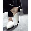 זול נעלי ספורט לגברים-בגדי ריקוד גברים מוקסין PU קיץ כפכפים & כפכפים שחור / אפור / אפור כהה