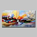 halpa Abstraktit maalaukset-Hang-Painted öljymaalaus Maalattu - Ihmiset Uskonnolliset Moderni Sisällytä Inner Frame / Venytetty kangas