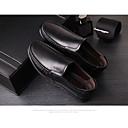 זול נעלי אוקספורד לגברים-בגדי ריקוד גברים עור קיץ & אביב נוחות נעליים ללא שרוכים שחור / צהוב / חום
