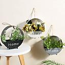 povoljno Vases & Košara-Umjetna Cvijeće 0 Podružnica Simple Style / Pastoral Style Cvjetni obrt Zidno cvijeće / Jedan Vaza