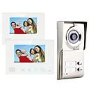 Χαμηλού Κόστους Συστήματα Ενδοεποικινωνίας Θυροτηλεόρασης-MOUNTAINONE SY811WMC12 Two Apartment Family Video Door Phone Hands-free 480*234Pixel Βίντεο Τηλέφωνο Πόρτας Ένα σε Δύο