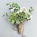 billige Brudebuketter-Brudebuketter Rose I Revers / Håndledskorsage Bryllup / Fest & Aften polyester 3.94 inch