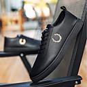 זול נעלי אוקספורד לגברים-בגדי ריקוד גברים PU קיץ & אביב נוחות נעלי אוקספורד לבן / שחור / שחור לבן