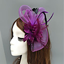 cheap Lip Sticks-Feather / Net Fascinators / Hats / Headpiece with Feather / Floral / Flower 1pc Wedding / Special Occasion Headpiece