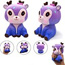 cheap RC Parts & Accessories-LT.Squishies Squeeze Toy / Sensory Toy Deer Galaxy Starry Sky Stress and Anxiety Relief New Design Squishy PEVA 1 pcs Boutique SUV Kid's Adults All Boys' Girls' Toy Gift
