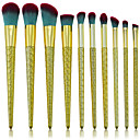 billige Øyenvipperedskap-10-pack Makeup børster Profesjonell Børstesett Økovennlig / Myk Plast