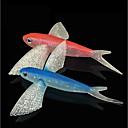 preiswerte Angelköder & Fliegen-1 pcs Weiche Fischköder / Gummifische Shad Kunststoff Seefischerei / Fliegenfischen / Köderwerfen / Eisfischen / Spinn / Spring Fischen / Fischen im Süßwasser / Karpfenangeln