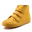 זול נעלי ילדות-בנות נעליים קנבס סתיו נוחות נעלי ספורט ל לבן / סגול / צהוב