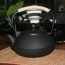 זול חול מתגבש לחתולים & מפה לגירוד-Cast iron Heatproof / יצירתי 1pc קנקן תה