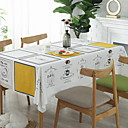 cheap Table Linens-Contemporary Cotton Square Table Cloth Geometric Table Decorations 1 pcs