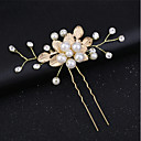 cheap Party Headpieces-Crystal / Alloy Hair Clip / Hair Stick with Crystals / Rhinestones 1 Piece Wedding / Special Occasion Headpiece