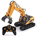 رخيصةأون العاب الشاحنات & مركبات البناء-RC سيارة 1570 2.4G سيارة الحفريات 1:14 فرشاة كهربائية 30 km/h