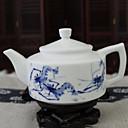 זול קפה ותה-חַרְסִינָה Heatproof 1pc מסנן תה