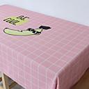 tanie Obrusy-Nowoczesny Bawełna Kwadrat Obrus Geometric Shape Dekoracje stołowe 1 pcs