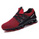 זול נעלי ספורט לגברים-בגדי ריקוד גברים גומי קיץ נוחות נעלי אתלטיקה הליכה לבן / שחור / אדום