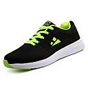 זול נעלי בד ומוקסינים לגברים-בגדי ריקוד גברים טול / PU סתיו נוחות נעלי ספורט קולור בלוק כחול כהה / שחור לבן / שחור / ירוק