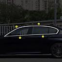 baratos Acessórios de Cabelo-Prata Adesivos Decorativos para Carro Negócio Guarnição da janela Não Especificado Guarnição da janela