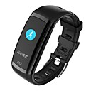 cheap Smart Activity Trackers & Wristbands-Smart Bracelet Smartwatch YY-CPCD09 for Android iOS Bluetooth Waterproof Heart Rate Monitor Blood Pressure Measurement Touch Screen Calories Burned Stopwatch Pedometer Call Reminder Activity Tracker