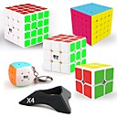 cheap Rubik's Cubes-Rubik's Cube 9 pcs QIYI QIYI-A Pyramorphix / Alien / Revenge 5*5*5 / 4*4*4 / 3*3*3 Smooth Speed Cube Magic Cube / Rubik's Cube Puzzle Cube