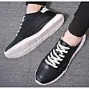 tanie Adidasy męskie-Męskie Komfortowe buty PU Wiosna / Jesień Adidasy Biały / Czarny