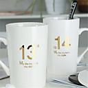 ieftine Cupe & Căni-Drinkware Porţelan Căni -Izolate termic 2pcs