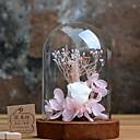 tanie Sztuczny kwiat-Sztuczne Kwiaty 1 Gałąź Elegancki Wieczne Kwiaty Bukiety na stół