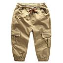 tanie Spodnie dla chłopców-Dzieci Dla chłopców Podstawowy Jendolity kolor Bawełna Spodnie