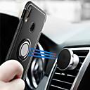 זול מגנים לטלפון & מגני מסך-מגן עבור Huawei P20 / P20 lite מחזיק טבעת כיסוי אחורי שִׁריוֹן קשיח PC ל Huawei P20 / Huawei P20 lite / P10 Plus / P10 Lite