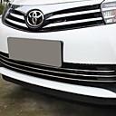 abordables Extensiones de Color Degradé-3pcs Coche Decoración de la parrilla delantera del coche Negocios Tipo de pasta For Parrilla delantera del coche For Toyota Corolla 2017