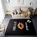 abordables Accesorios para Robot-Las alfombras de área Modern Franela de Algodón, Rectangular Calidad superior Alfombra / Látex antideslizante