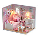 cheap Doll Houses-Dollhouse Adorable Hand-made House Creative 1 pcs Pieces Kid's Adults Girls' Toy Gift