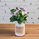 tanie Sztuczny kwiat-Sztuczne Kwiaty 1 Gałąź Rustykalny Azalia Bukiety na stół