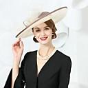 رخيصةأون قطع رأس-ألياف الكتان قبعات مع عقدة 1PC زفاف / حفل / مساء خوذة