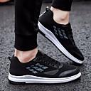 זול נעלי ספורט לגברים-בגדי ריקוד גברים רשת אביב נוחות נעלי אתלטיקה ריצה שחור וכסף / שחור / כחול / כתום ושחור