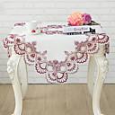 tanie Obrusy-Nowoczesny Kwadrat Obrus Kwiaty Dekoracje stołowe 1 pcs