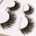 cheap Eyelashes-Eye 1 Natural / Curly Daily Makeup Full Strip Lashes / Crisscross Make Up Portable Portable / Professional Others 1cm-1.5cm