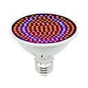baratos Luz LED Ambiente-1pç 30W 1600lm E26 / E27 Lâmpada crescente 200 Contas LED SMD 5730 Decorativa Azul Vermelho 85-265V