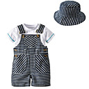 cheap Baby Boys' Clothing Sets-Baby Unisex Basic Striped Short Sleeve Clothing Set / Toddler