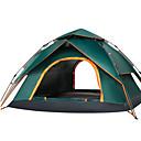 baratos Sutiãs-Sheng yuan 4 pessoas Ao ar livre Barracas de Acampar Leves Á Prova-de-Chuva Secagem Rápida Automático Dome Um Quarto Dupla Camada 2000-3000 mm Barraca de acampamento para Campismo / Escursão