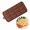tanie Akcesoria do pieczenia-12 otwory gofry kształt ciasto czekoladowe formy kremówki ciasteczka formy silikonowe ślub cukierki ciasto dekorowanie formy diy narzędzia do pieczenia