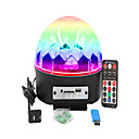 abordables Utensilios para huevos-1 juego 16W 9 LED Control remoto Luces LED Para Escenarios RGB AC 100-240V