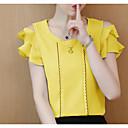 cheap Women's Flats-Women's Basic T-shirt - Solid Colored