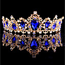 cheap Party Headpieces-Alloy Headpiece with Rhinestone 1pc Wedding / Special Occasion Headpiece