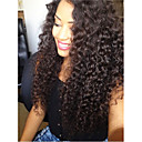 cheap Wedding Shoes-Virgin Human Hair Full Lace Wig Malaysian Hair Curly Wig Layered Haircut 130% With Baby Hair / For Black Women Black Women's Short / Long / Mid Length Human Hair Lace Wig