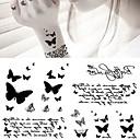 billige Midlertidige tatoveringer-5 pcs Tatoveringsklistermærker Midlertidige Tatoveringer Dyre Serier Kropskunst arm