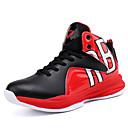 זול נעלי ילדים-בנים נעליים רשת / טול אביב קיץ נוחות נעלי אתלטיקה כדורסל ל מתבגר שחור / אדום / כחול