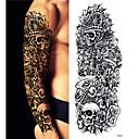 cheap Temporary Tattoos-3 pcs Tattoo Stickers Temporary Tattoos Cartoon Series Body Arts Arm