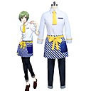 cheap Anime Costumes-Inspired by Cosplay Cosplay Anime Cosplay Costumes Cosplay Suits Other 3/4 Length Sleeve Shirt / Pants / Apron For Unisex