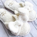 ieftine Papuci de casă-Papuci Damă Sandale Casual Terry Nod Papion / Culoare solida