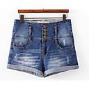 baratos Infantil Tiaras-Mulheres Activo Jeans / Shorts Calças - Sólido